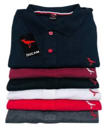 Kit 5 camisetas Polo