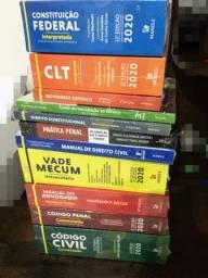 Coleção 12 Livros Direito - Edição 2020