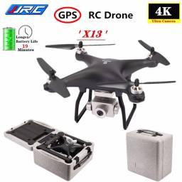 Drone Jjrc X13 19min 5g Gps Brushless Gimbal 4k Com Case