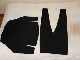 Calça e blusa térmicas