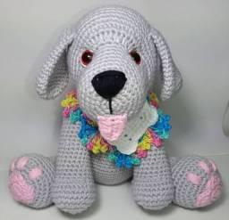 Cachorro labrador Amigurumi