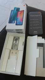 Xiaome Redmi Note 9 novo na caixa