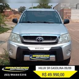 Hilux 2.7 gasolina 09/09 R$ 49.990,00
