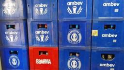 Caixa de Cerveja Ambev 600 ml.