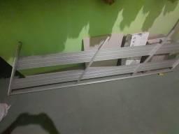 Corrimão de escada em alumínio