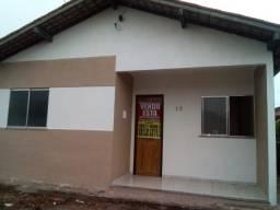 Linda casa no Novo Estrela, c/ 2 quartos, quitada, financiável