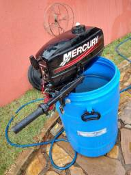 Motor Mercury 3.3 Hp com acelerador no manche