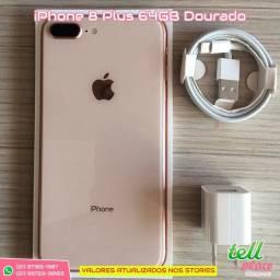 IPhone 8 Plus 64GB Dourado loja física