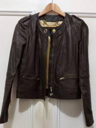 Jaqueta importada 100% couro legítimo