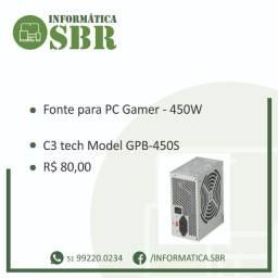 Fonte C3 tech - 450W