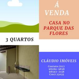 VENDO CASA NO PARQUE DAS FLORES