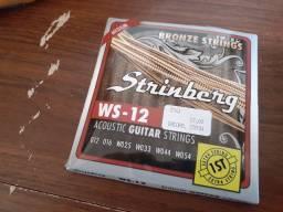 Vendo encordoamento Strinberg 012