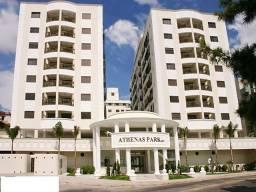 Alugo apto 2 quartos, vaga, frente UFSC, Residencial Athenas Park, Pantanal