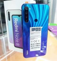 Celular Xiaomi Redmi Note 8 64Gb 4Gb Ram Neptune Blue Novo Lacrado