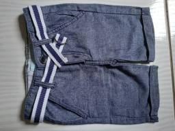 Bermuda jeans molinha