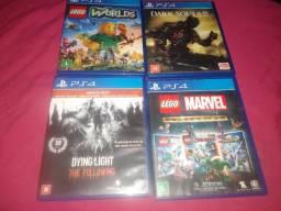 Jogos PS4 v/t