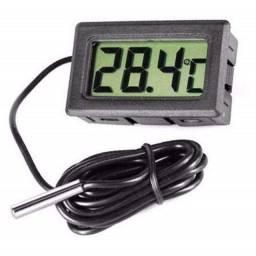 Termometro Digital Lcd Aquario Freezer cozinha Com Cabo com sensor Novo leia a descrição