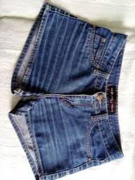 Short jeans por 10 reais