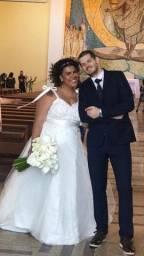 Vestido de noiva plus size veste 54