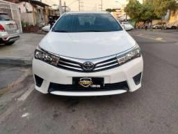 Carro Toyota Corolla 1.8 15/16 Automático Completo