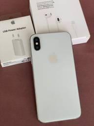 IPhone X 64GB Branco - mostruario de loja - novissimo - completo