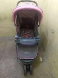 Carrinho e Bebê conforto, R$350