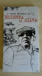 Álbum O Samba Malandro de Bezerra da Silva com 4 CDs usado