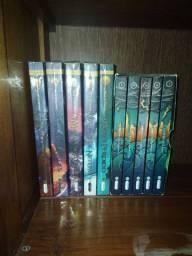 Vendo coleção Percy Jackson e Heróis do Olimpo