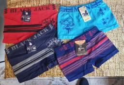 Kit cueca infantil + entrega grátis em toda Campo Grande MS