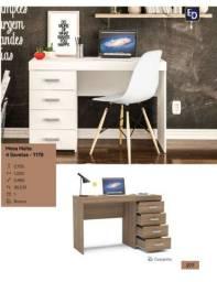 Mesa escrivaninha 4 gavetas *