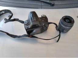 Troco Câmera proficlscional Sony A390