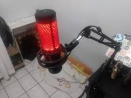 Microfone Condensador Profissional - Hyper X Quadcast