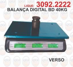 Balança digital 40 kg BD preta