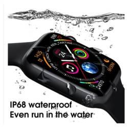 Smartwatch W26 Bluetooth à Prova d?Água IP68 Monitor de Pressão Arterial