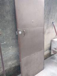 Portão Chapa 18 reforçado 0,80 x 2,00