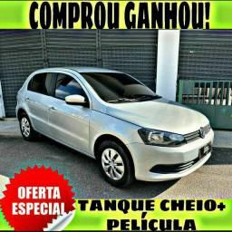 TANQUE CHEIO SO NA EMPORIUM CAR!!! GOL 1.0 G6 ANO 2016 COM MIL DE ENTRADA