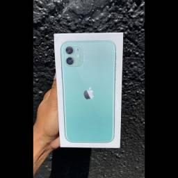 IPhone 11 64gb lacrado original + capa e pelicula top