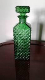 Garrafa bico de jaca verde