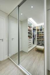 Portas para Closet com espelho