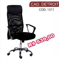 Cadeira de Escritório Detroit Giratória