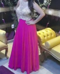 Vestido Madrinha Rosa Pink M