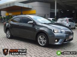 Toyota Corolla 2.0 XEI Câmbio CVT*4 Airbags*Multimídia*Direção Elétrica - 2015