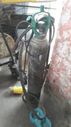 Maçarico junti com cilindro