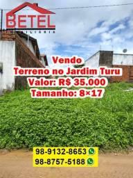 Terreno no Jardim Turu por 35 mil