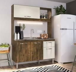 Cozinha Compacta 4 Portas 1.20m