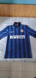 Camisa de Futebol Nike Inter de Milão 2011-2012