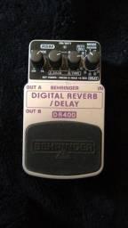 Vendo pedal reverb delay behringer