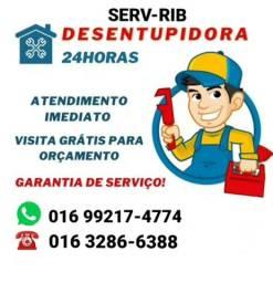 DESENTUPIDORA SERV RIB 24 HORAS