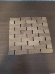 Conjunto de madeira descansador para utensílios quentes como tigelas / panelas