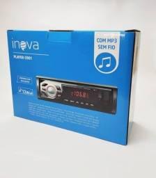Som automotivo inova MP3 player